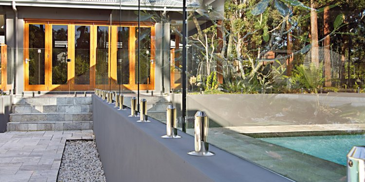 Frameless Glass Pool Fencing - Swimming Pools Brisbane | Pool