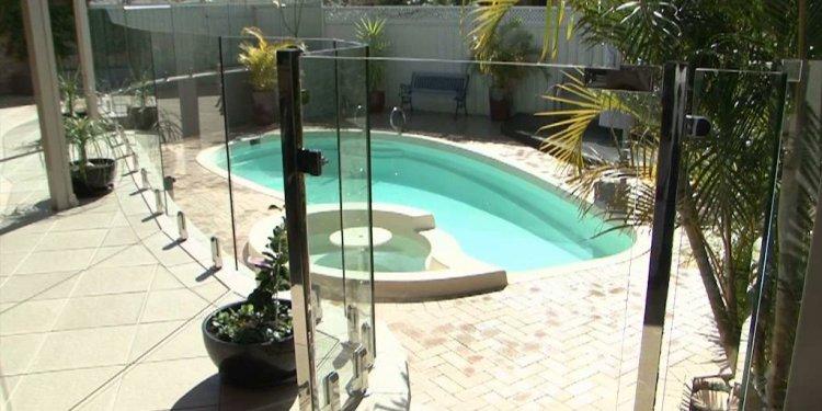 Pool fencing - Perth Clear-Az-Glass Pool Fencing - YouTube
