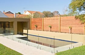 Frameless Clamp Pool Fencing